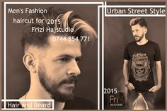 Frizi Hajstudio Men's Hair. beard-and-hairstyle