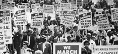 In December 1955, Rosa Parks, a department store worker, refused to move to give up her seat on the bus for a white person. She was not the first person to disobey segregation but the subsequent black boycott of the buses brought to prominence Dr Martin Luther King Jnr. Inspired by Ghandi, the...
