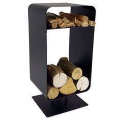Freestanding log stores and holders are the perfect fireside companion for keeping a small amount of fuel handy for refuelling your fire. The Manor...
