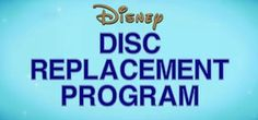 Get Disney DVD's replaced if they are damaged. LOVE that Disney offers this!