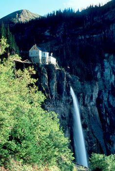 Bridal Veil Falls, Telluride, CO © Marsha K. Russell