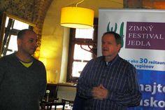 Herr Pavúk vom Restaurant Pavúk und Radoslav Nackin, Direktor des Gurmán Clubs
