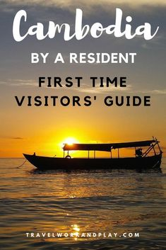 Everything you need to know for your trip to Cambodia. Perfect for first timers. Cambodia Itinerary, Cambodia Beaches, Cambodia Travel, Vietnam Travel, Phnom Penh, Siem Reap, Hanoi, Best Travel Guides, Travel Tips