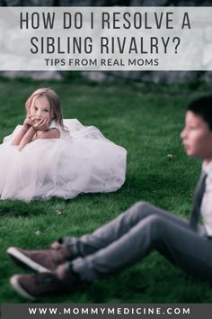 Sibling rivalry is unavoidable. Use these tips to help when it gets to be too much.