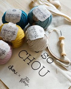 10 Meilleures Images Du Tableau Dmc Natura Xl Crochet Accessories