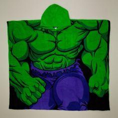 Hulk Hooded Throw