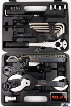 XLC 33-Piece Pro / Home Bicycle Mechanic Tool Kit / Repair Set w/ Carrying Case