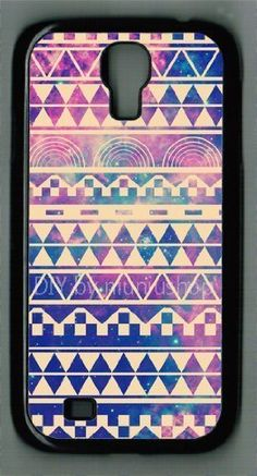 Buy Samsung Galaxy S4 I9500 Case Hipstr Nebula & white Aztec Andes Tribal Pattern Samsung galaxy s4 case (multi) NEW for 1.55 USD | Reusell