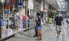 Estado do Rio tem 141 mil casos e 12 mil mortes por covid-19 Street View, Junho, High Street Shops, Rio De Janeiro, Brazil, It Works, Cases, Nantes