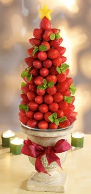 The Great Strawberry Christmas Tree