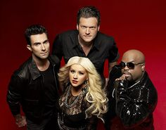The Voice. I've always loved Xtina, but GO TEAM BLAKE!!! :D