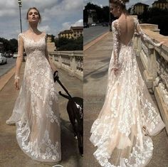free shipping, $120.16/piece:buy wholesale 2016 full lace sexy backless illusion wedding dresses a line fashion bridal ball gowns open back with long sleeves robe de marriage 2016 spring summer,reference images,lace on hjklp88's Store from DHgate.com, get worldwide delivery and buyer protection service.
