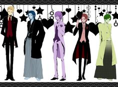 Look how smexy they look in their formal wear. Harvest Moon TOTT