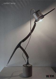 WDA - WilDesignArt - Colibrì Lamp n.13