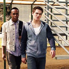 Dylan Sprayberry and Khylin Rhambo (1)