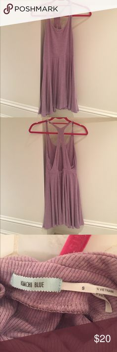 Urban Outfitters Lavender Cotton Dress Urban Outfitters lavender cotton dress. Brand is Kimchi Blue. No damages! Urban Outfitters Dresses Mini