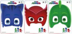 Looking for PJ Masks Games & Activities? Print out these Owlette, Gekko, and Catboy masks free!