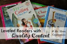 Leveled Readers with Quality Content (Nonfiction and Historical Fiction) @ Mt. Hope Chronicles
