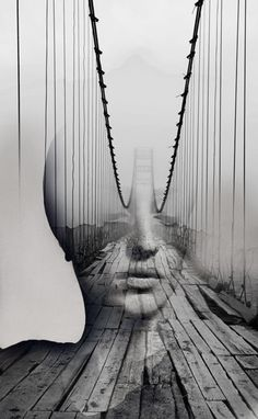 Hypnotic Fusion of Portraits by Antonio Mora