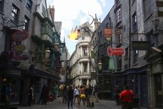 I want to go to the wizarding world of harry potter :(