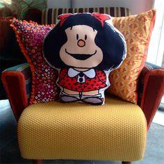 Almofada Mafalda - Mais no Medo da Pressa