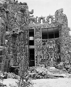 Casa del arquitecto Juan O'Gorman en el Pedregal de San Angel (demolida)  Foto Martín Alvarado Lara [Arquivo Cedodal]