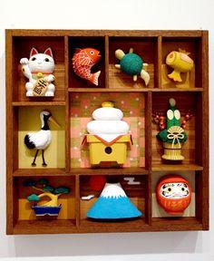 New Year box by Wada Haruo
