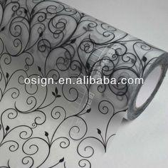 Decorative laminate film,pattern window sticker,stained glass window film