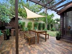 outdoor living areas image:  bbq area  low maintenance
