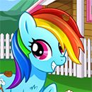 My Little Pony Rainbow  Dash Day Care