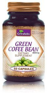 Pure Green Coffee Bean Extract. 400mg Per Capsule. 60 Capsules Per Bottle. (Contains 50% Chlorogenic Acids) by Pure Green Cofee Extract.. $18.77. 400mg Per Capsule.. Contains 50% Chlorogenic Acids.. Made in the USA. Ingredients Featured on Major TV Show.. Contains 65% Polyphenols.. 100% Pure Green Coffee Bean Extract.. The ingredients found in our formulation have been backed by leading research and the weight loss results are nothing short of incredible.   While there...