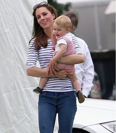 Prince George and Catherine