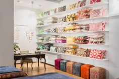 You can find the most beautiful handmade pillows in Mattocenter. Choose your favourite from hundreds of pillows in different styles. Handmade Pillows, Handmade Rugs, Beautiful Interiors, Different Styles, Most Beautiful, Bookcase, Shelves, Interior Design, Modern