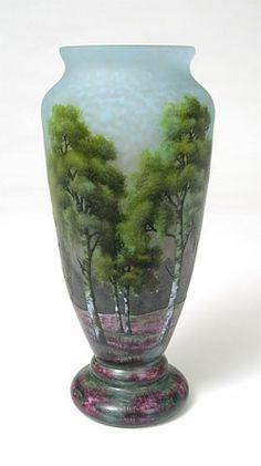 Cameo glass Vase by Daum. http://www.palaceofglass.com/resources/daum