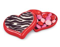 Heart-Shaped Candy Treat Box #Valentines