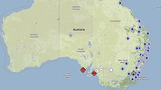Australia gets a national disaster map for bushfire warnings