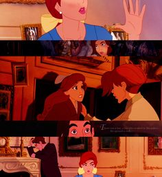 Anastasia remembers how she and her grandmother escaped the royal palace when she was young - Dimitri helped them! Princesa Anastasia, Disney Anastasia, Anastasia Movie, Anastasia Broadway, Walt Disney, Disney Magic, Disney Animation, Animation Film, Disney And Dreamworks