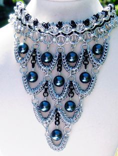 Chainmaille Weave Ideas: D20 – 20g 1/8″ (3.2mm)