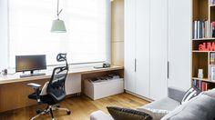 Nowoczesne biuro w domu