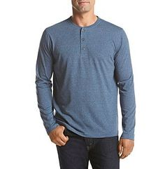 John Bartlett Consensus Men's Siro Long Sleeve Henley