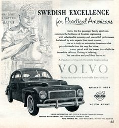 1958 Volvo Advertisement Time April 21 1958 | Flickr - Photo Sharing!
