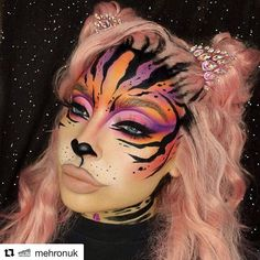 We have been in business over 60 years and have been doing Airbrush Face Painting & Temporary Tattoos for over 25 years! Makeup Inspo, Makeup Art, Makeup Inspiration, Perfect Makeup, Pretty Makeup, Maquillage Halloween, Halloween Makeup, Butterfly Eyes, Makeup Face Charts