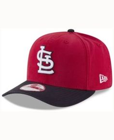 New Era St. Louis Cardinals Vintage Washed 9FIFTY Snapback Cap - Red/Navy Adjustable
