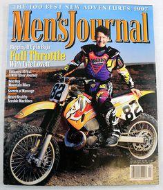 Mens Journal Magazine March 1997 Lyle Lovett Full Throttle Motorcycles Music OOP Lyle Lovett, Rip It Up, Buy Bike, Full Throttle, Studio 54, Music Magazines, Cover Model, Aerobics, Motorcycles