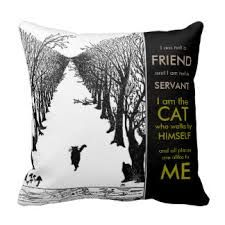 Image result for i am the cat who walks by himself