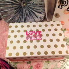 Large brand new storage box Brand new magnetic closure   Can be used for makeup jewelry or anything 10 in length 15 in wide PINK Victoria's Secret Accessories