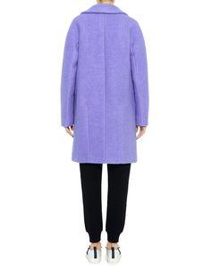 Carven Felted Wool Oversized Coat