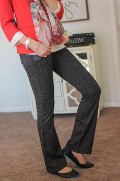 STITCH FIX STYLIST! I love this blazer & these pants!!! :) Rebekah Blazer from Kensie and Jordyn Bootcut Pant from Liverpool - Stitch Fix