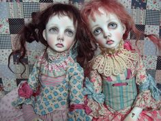 OOAK Dollstown Mari twins.