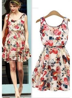 a3f50187cdb0 short print womens clothing beach dress from www.27dress.com Summer Dresses